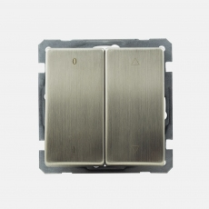 Lux Metal Shutter switch with ...