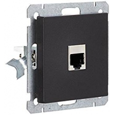 Face RJ45 socket without frame...