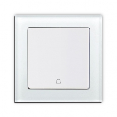 Face Glass Doorbell Push Butto...